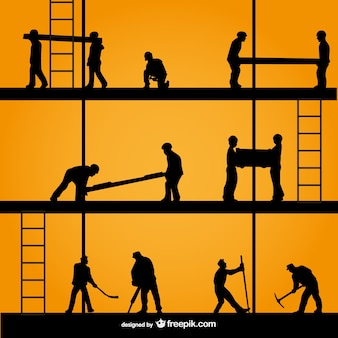 Construction silhouettes