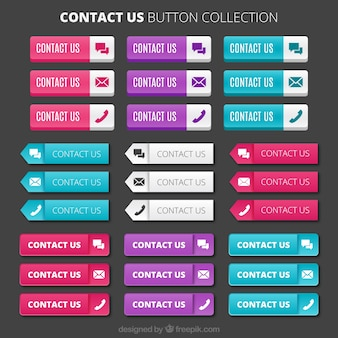 Contact button collection