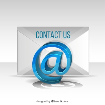 Contact email background