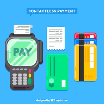 Contactless payment elements