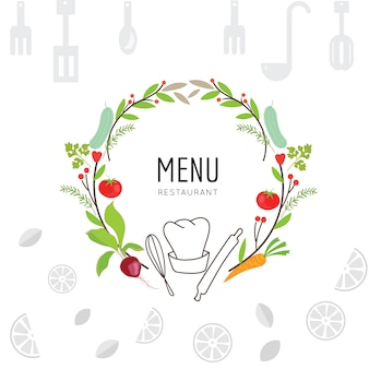 Cooking background design