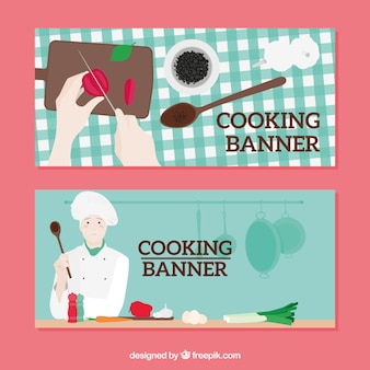 Cooking banner pack