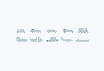 Cool vehicle illustrations vector