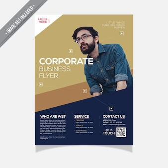 Corporate Business flyer modern design