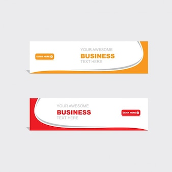 Corporate web banners