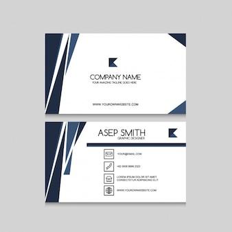 Corporative business card design