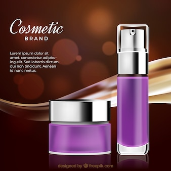 Cosmetic elements background