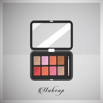 Cosmetics background design