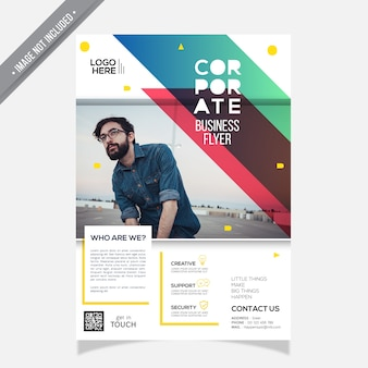 Cover Annual Report Corporate Template