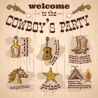 Cowboy's party design