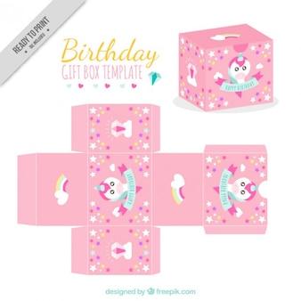 Create your cute birthday box