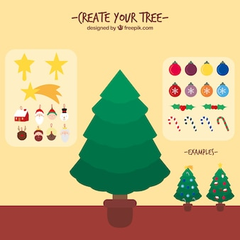 Create your own christmas tree