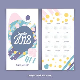 Creative 2018 calendar