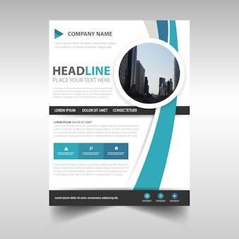 Creative annual report cover