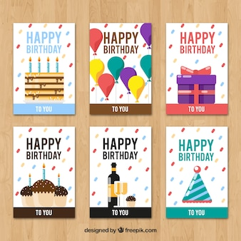 Creative birthday cards collection