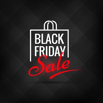 Creative black friday sale poster