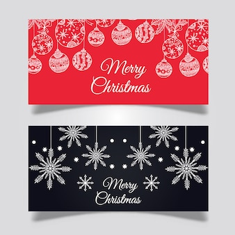Creative Christmas Banners Designs