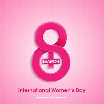 女性の日のための創造的なデザイン