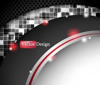 creative modern abstract mosaic illustrator vector