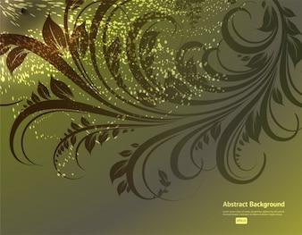 創造的な染色冬グランジスワール