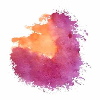 Creative watercolor texture