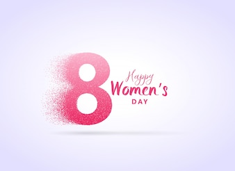 Creative woman day background