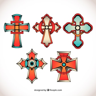 Cross tattoo collection