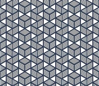 Cube pattern design