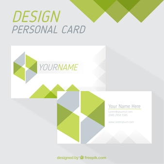 Cube personal card