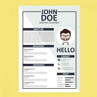 Curriculum Vitae Vectors, Photos and PSD files | Free Download
