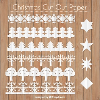 Cut out christmas borders