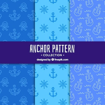 Cute anchor pattern
