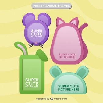 Cute animal frame collection