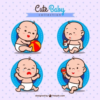 Cute baby boy collection
