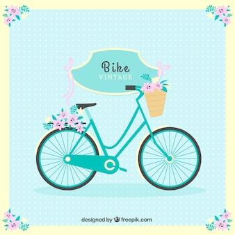 かわいいバイクの背景