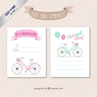 Cute card templates