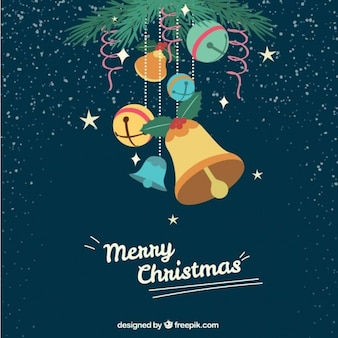 Cute christmas decoration background