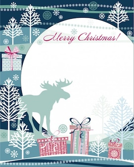 Cute christmas greeting