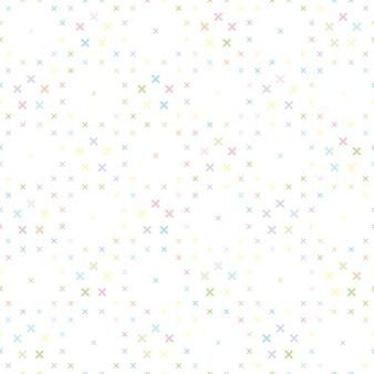 Cute cross pattern background