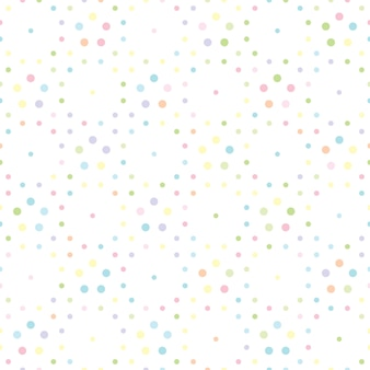 Cute dotted background pattern