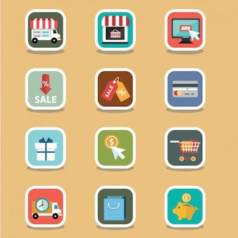 Cute e commerce elements
