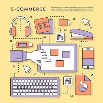 Cute elements for e comerce