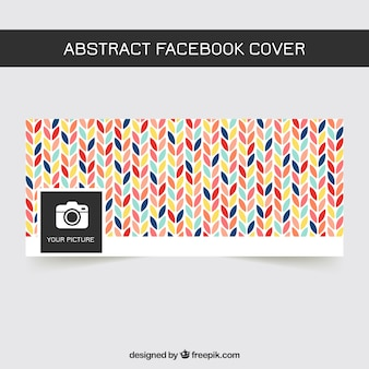 Cute facebook cover sheet of colors