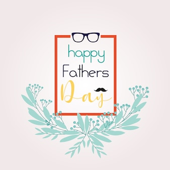 Cute father's day background