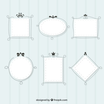 Cute frames with lines