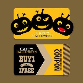Cute halloween coupon