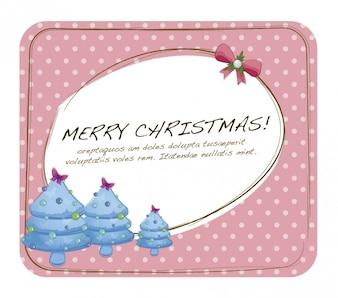 かわいいメリークリスマスカード