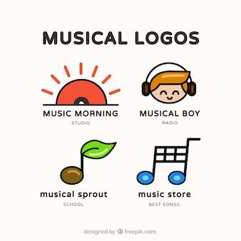 cute music logos