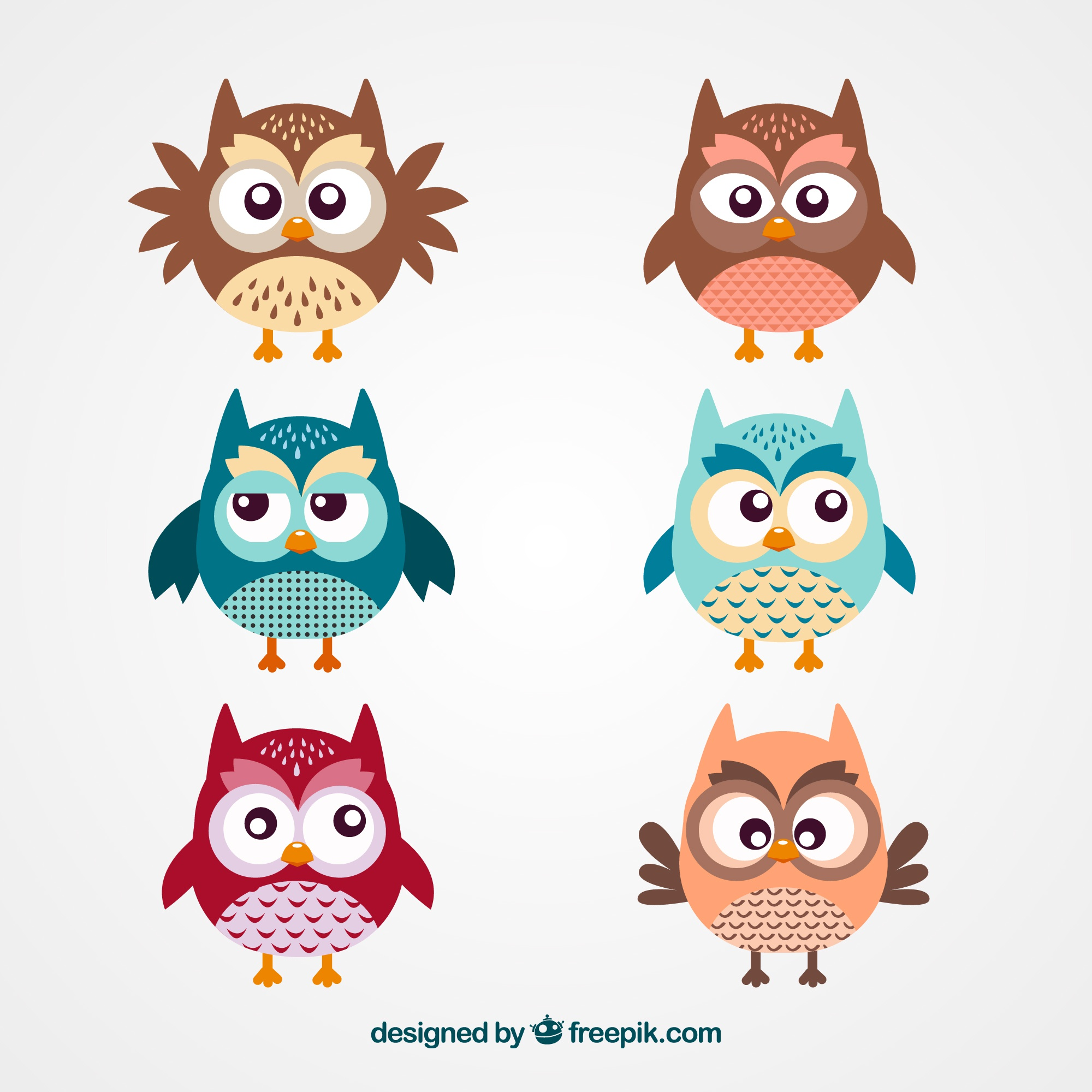 Cute Owl Cartoons