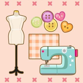 かわいい縫製コレクション